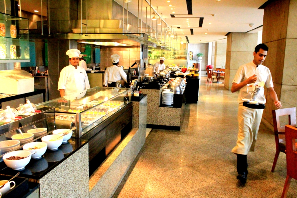 Waterside Cafe at Hyatt Regency Kolkata